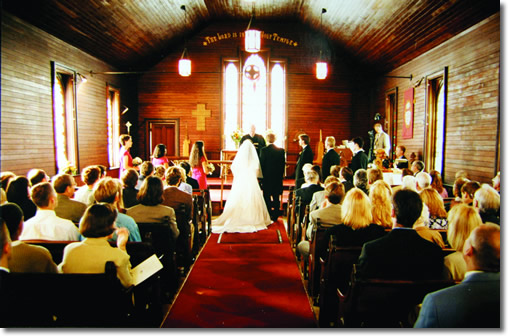 Wedding at Trinity